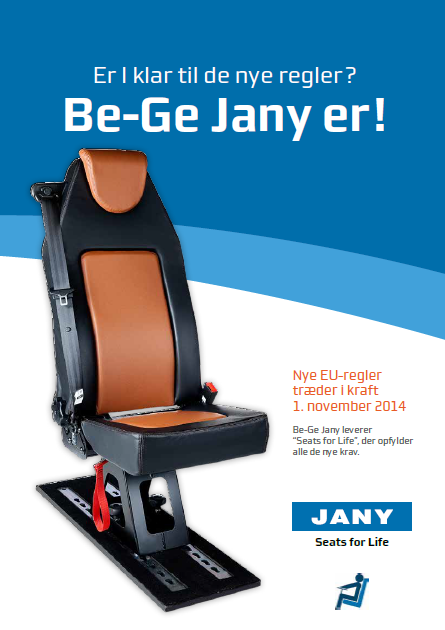 Be-Ge Jany (Pressemeddelelser, tekstforfatning og rådgivning)